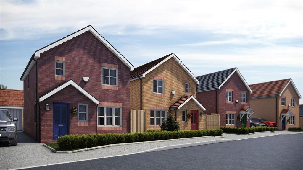 3 Bedrooms Detached House for sale in Pentrosfa Leys, Llandrindod Wells, Powys
