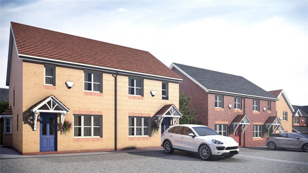 2 Bedrooms Semi Detached House for sale in Pentrosfa Leys, Llandrindod Wells, Powys