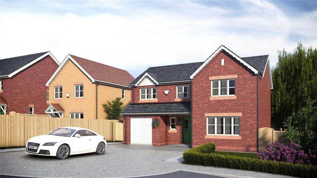4 Bedrooms Detached House for sale in Pentrosfa Leys, Llandrindod Wells, Powys