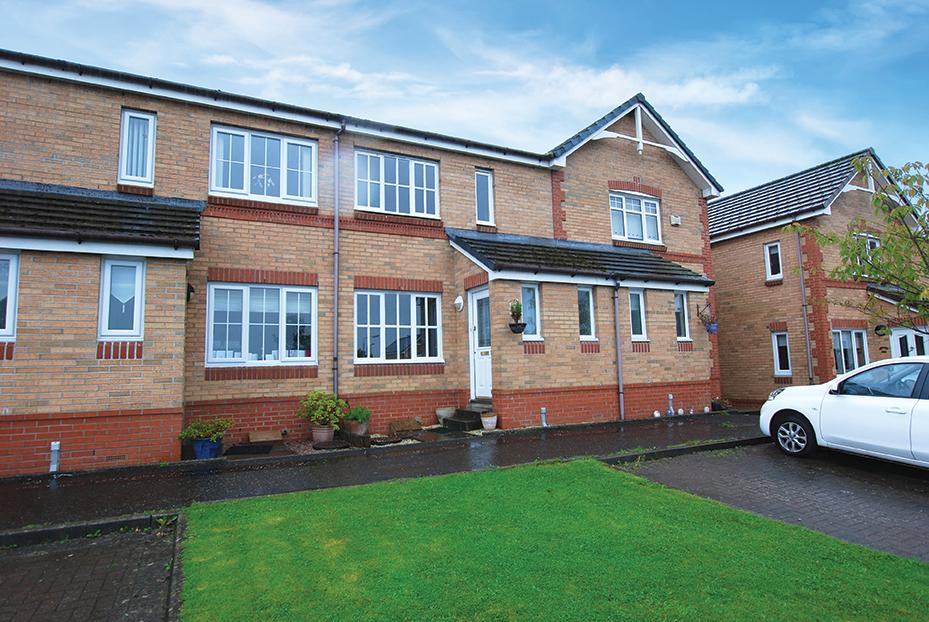 3 Bedrooms Terraced House for sale in 21 Bankfield Park, Ayr, KA7 3UD