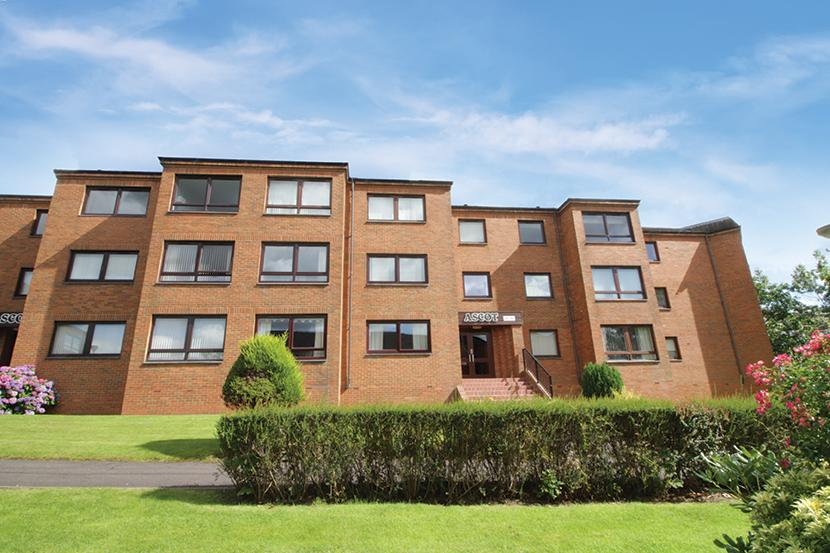 1 Bedroom Flat for sale in 64 Ascot Court, Anniesland, G12 0BA