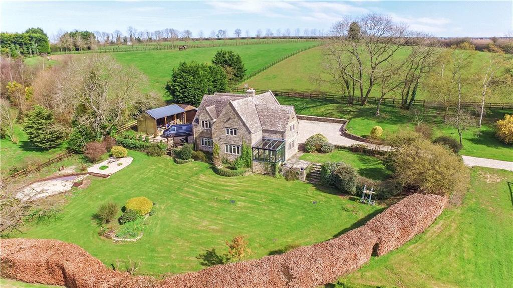 5 Bedrooms Detached House for sale in Little Rissington, Cheltenham, Gloucestershire, GL54