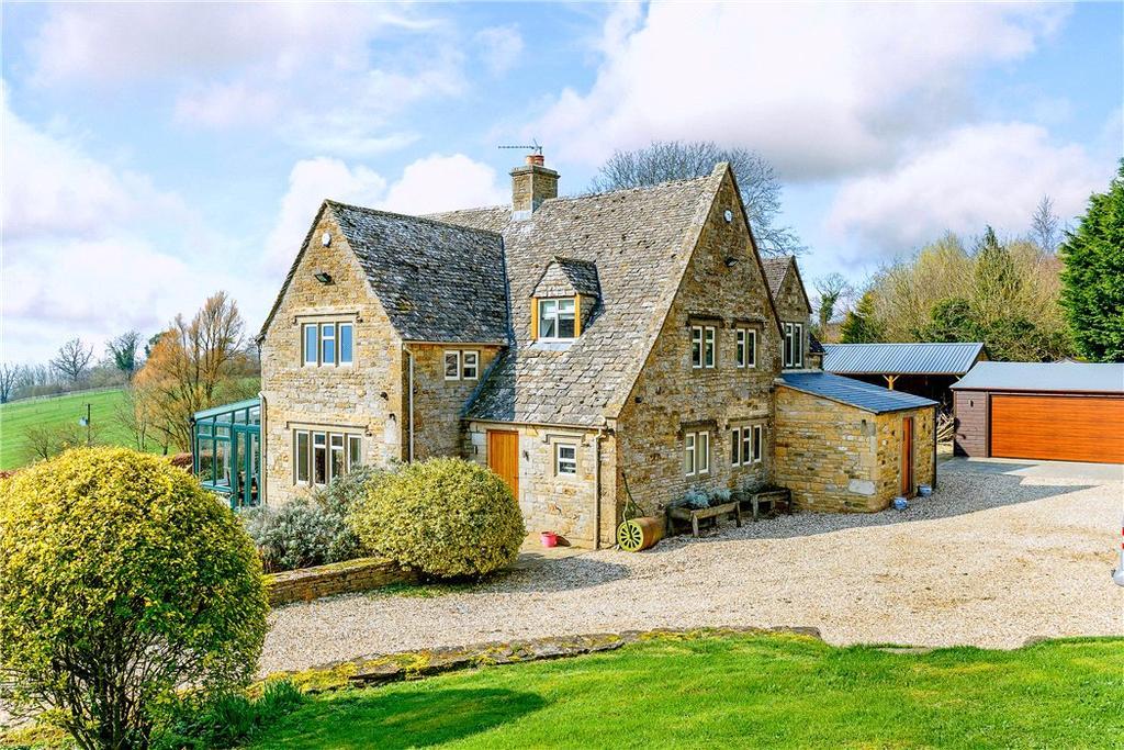 5 Bedrooms Detached House for sale in Little Rissington, Cheltenham, Gloucestershire, GL54
