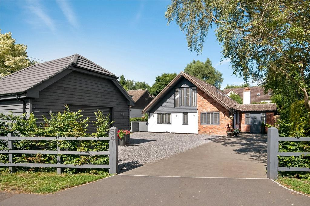 4 Bedrooms Detached House for sale in Springvale Road, Winchester, Hampshire, SO23