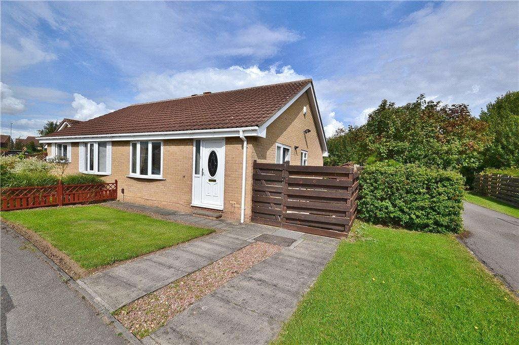 2 Bedrooms Semi Detached Bungalow for sale in Marley Close, Elm Tree, Stockton-On-Tees