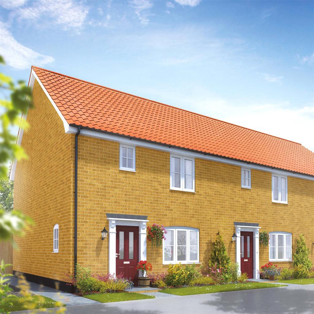 3 Bedrooms Semi Detached House for sale in Plot 85 Broadbeach Gardens, Stalham, Norfolk, NR12