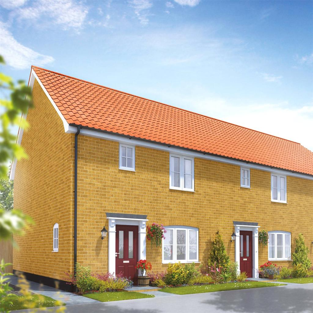 3 Bedrooms Semi Detached House for sale in Plot 85 Broadbeach Gardens, Stalham, Norfolk, NR12