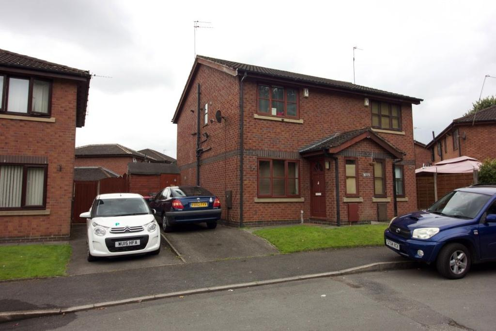 2 Bedrooms Semi Detached House for sale in Kersal Way, Salford M7