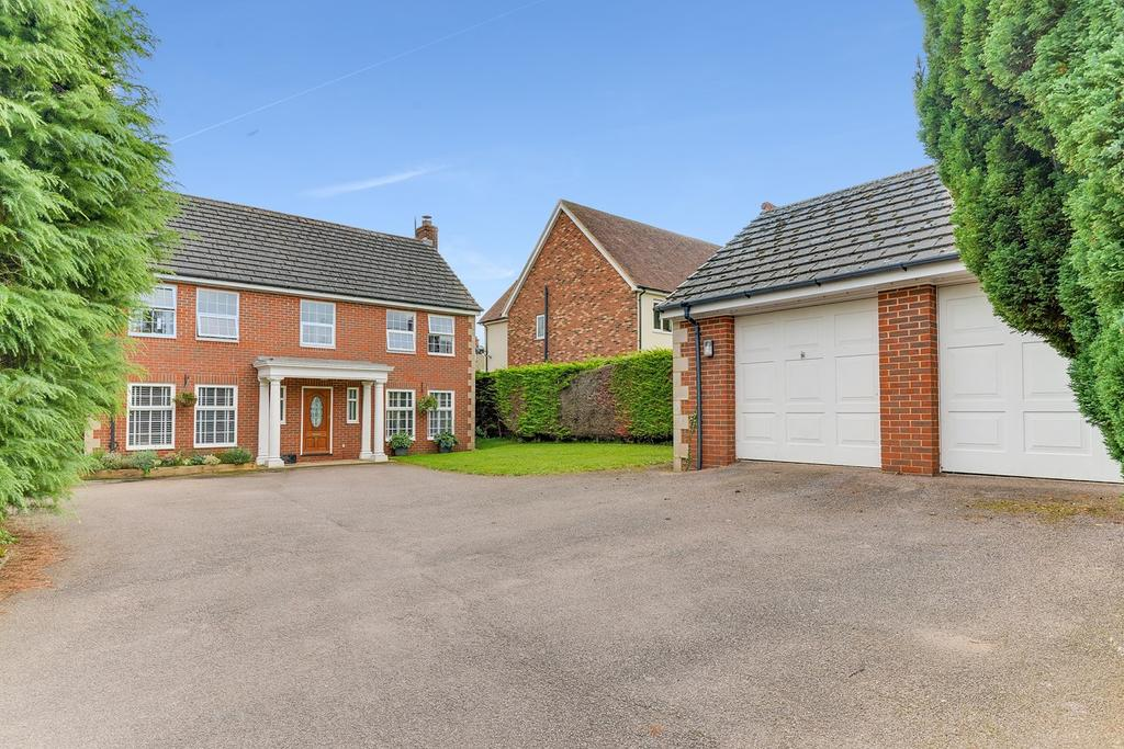 5 Bedrooms Detached House for sale in Highlands, Flitwick, MK45