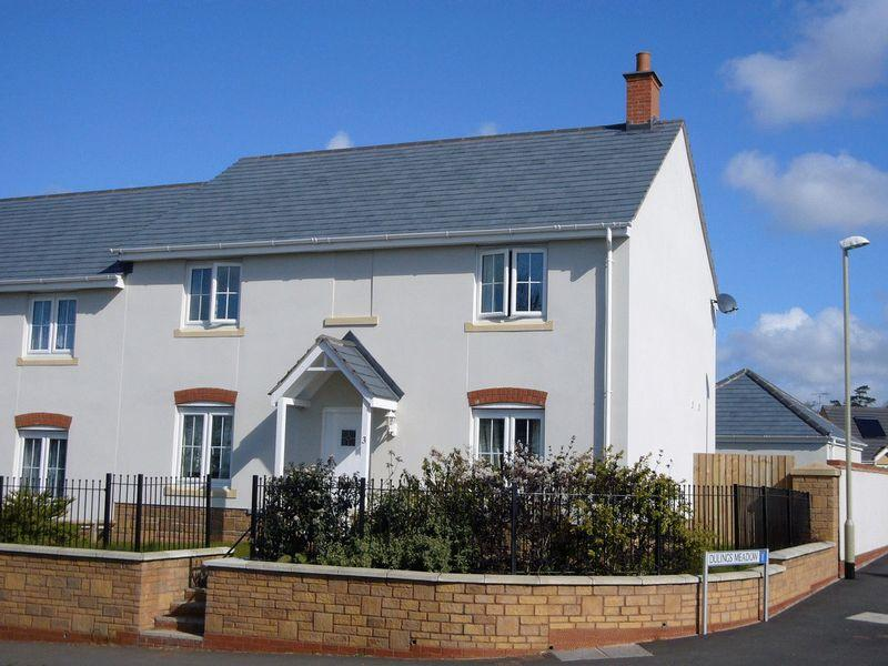 4 Bedrooms Semi Detached House for sale in 3 Dulings Meadow, Copplestone