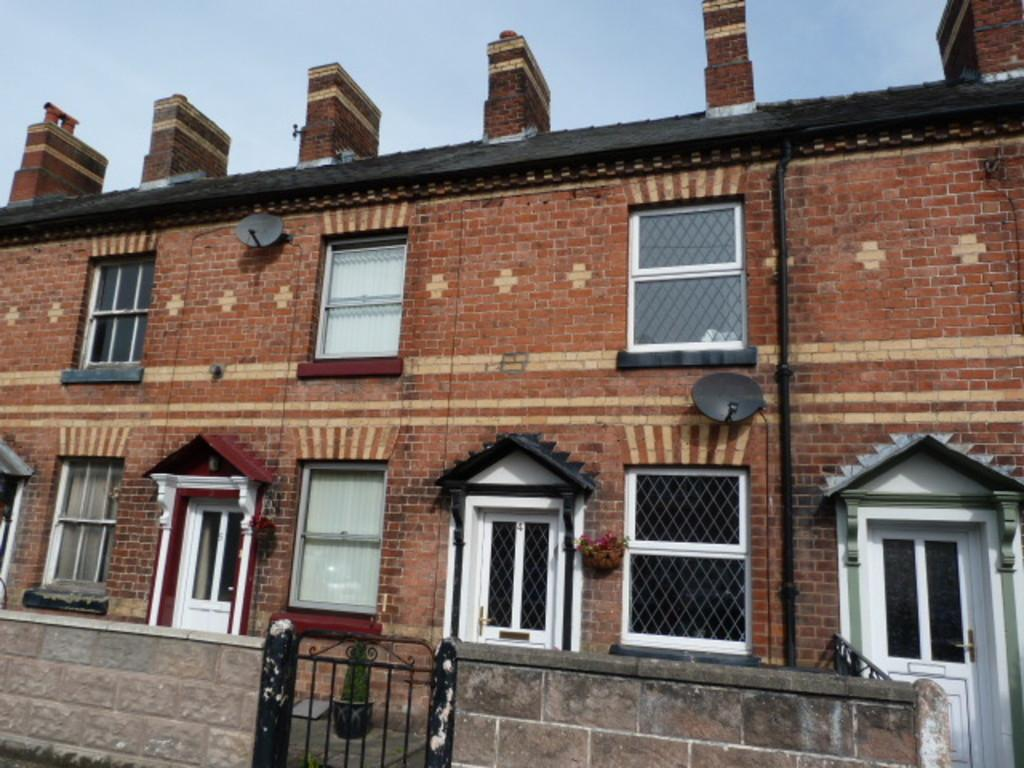 1 Bedroom Terraced House for sale in 4 Crynfryn, New Road, Newtown