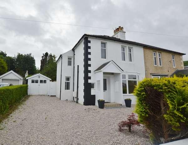 3 Bedrooms Semi-detached Villa House for sale in 32 Montgomerie Drive, Fairlie, Largs, KA29 0DY