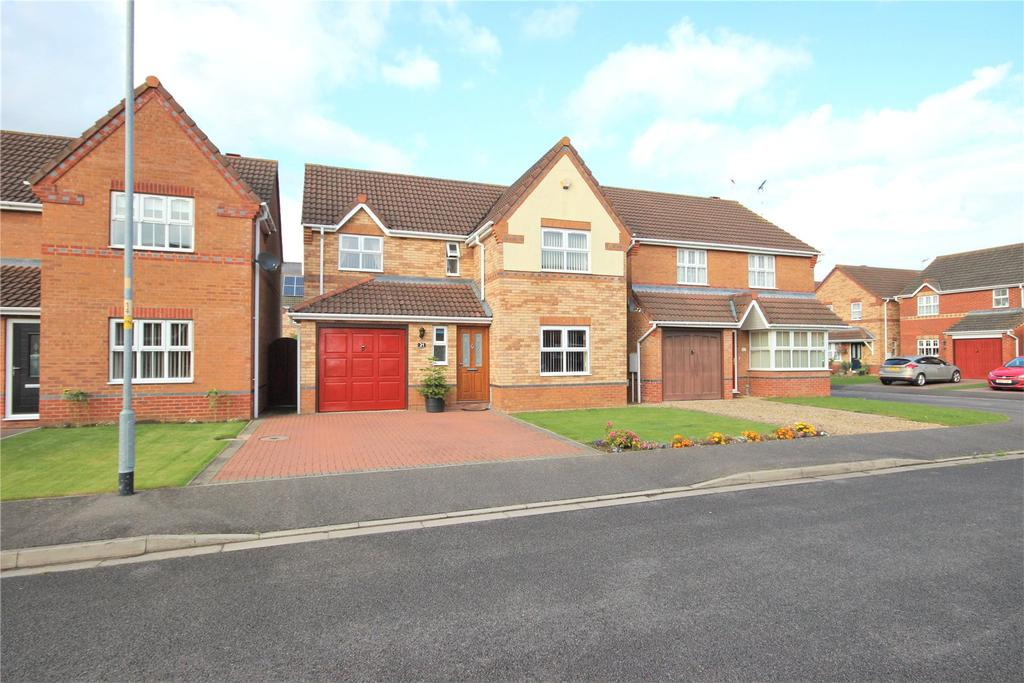 4 Bedrooms Detached House for sale in Keepers Way, Sleaford, NG34