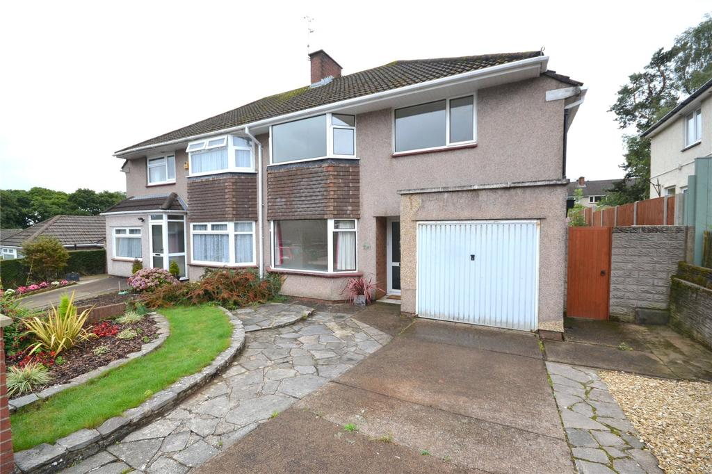 3 Bedrooms Semi Detached House for sale in Lonsdale Road, Penylan, Cardiff, CF23