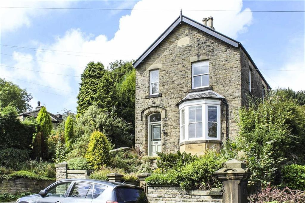 4 Bedrooms Detached House for sale in Spring Bank, New Mills, High Peak, Derbyshire