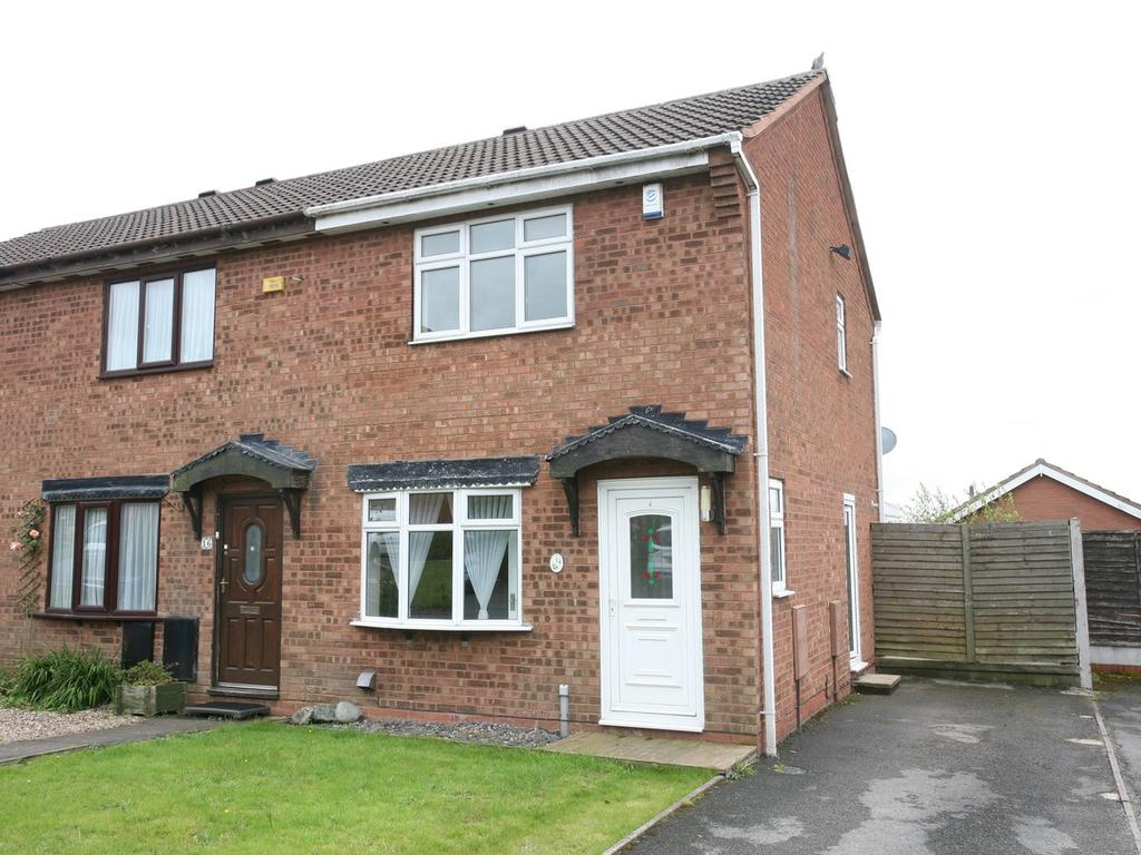 2 Bedrooms Mews House for sale in 14 Silver Fir Close, Hednesford, WS12 4SU