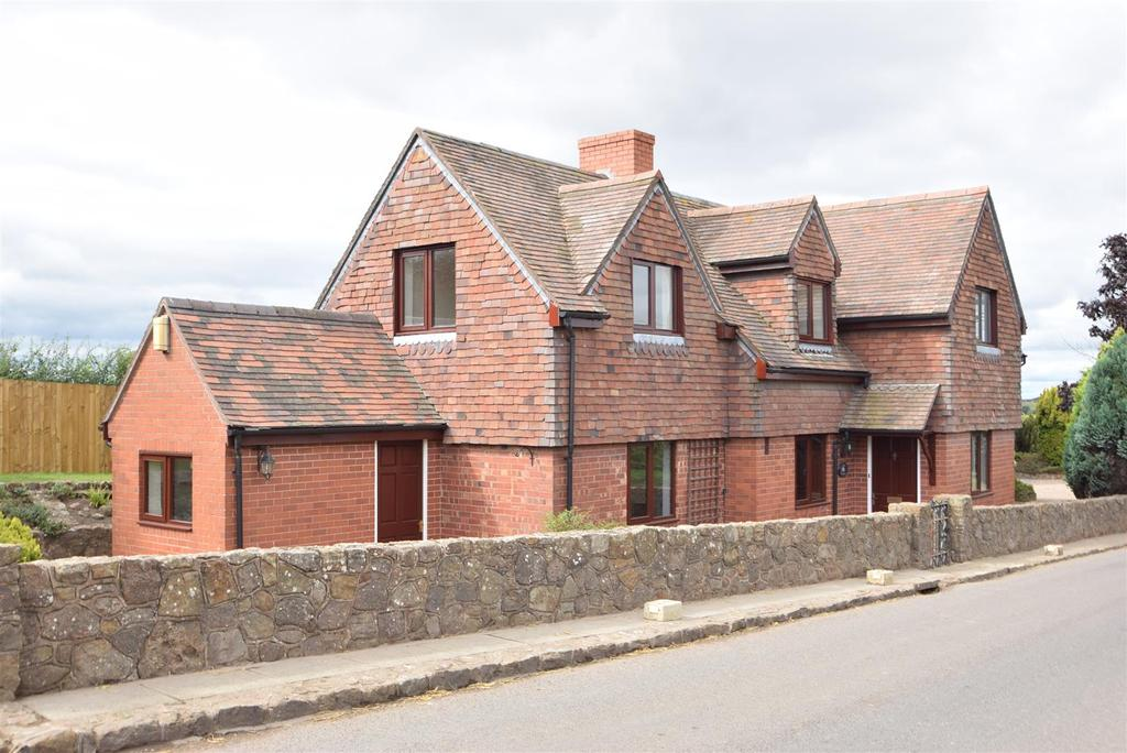 4 Bedrooms Detached House for sale in Milestone Cottage, Cantlop, Shrewsbury, SY5 7DD