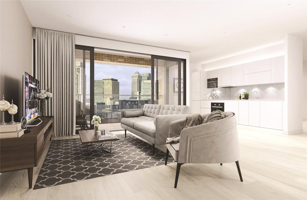 2 Bedrooms Flat for sale in Liberty Building, Limeharbour Road, Isle Of Dogs, E14
