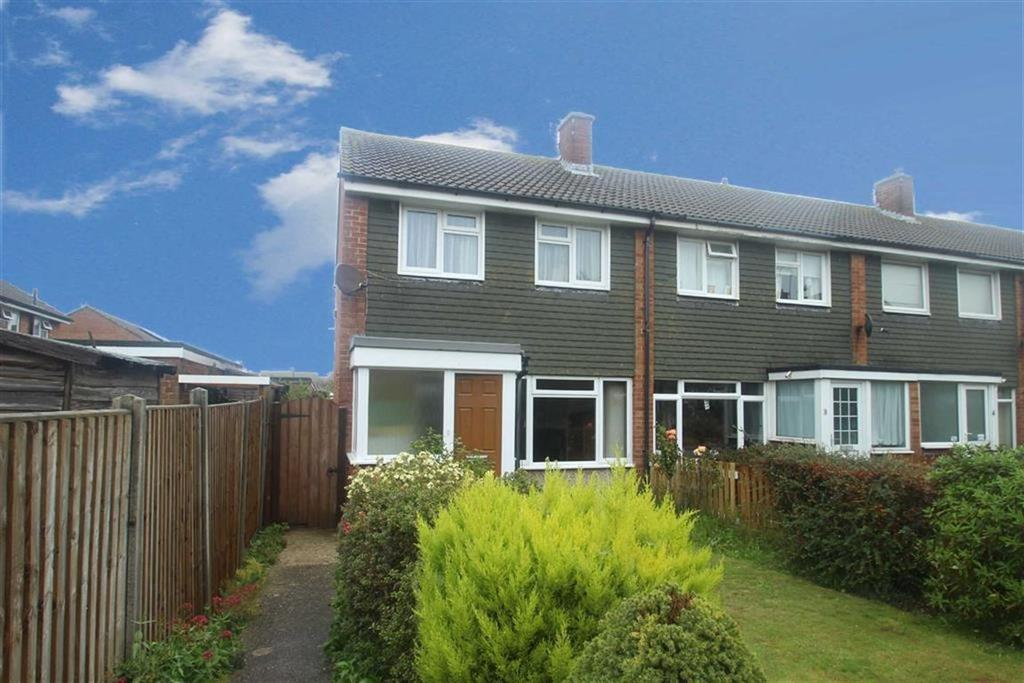 3 Bedrooms End Of Terrace House for sale in Parham Close, Rustington, West Sussex