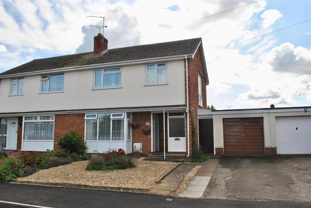 3 Bedrooms Semi Detached House for sale in Lawn Meadow, Ruishton, Taunton