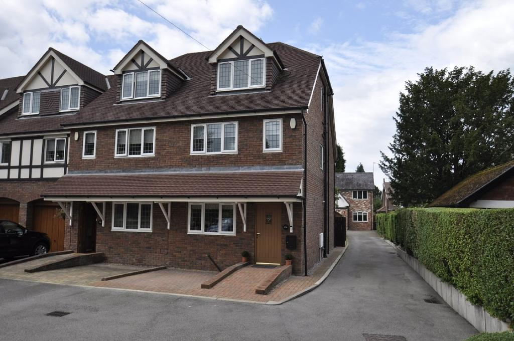 4 Bedrooms End Of Terrace House for sale in Bramhall Lane South, Bramhall