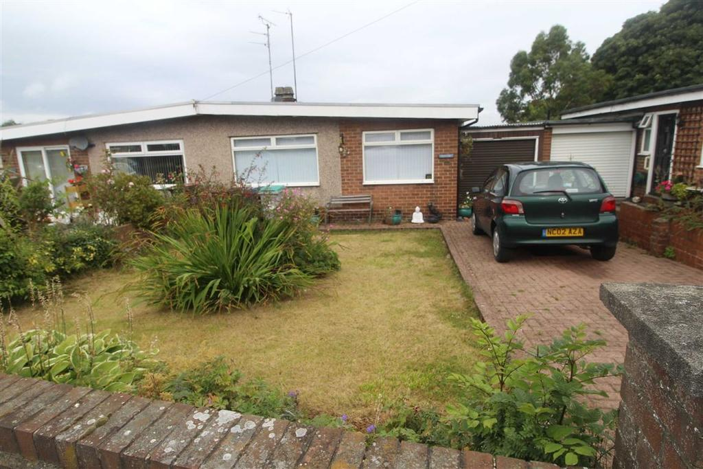 2 Bedrooms Semi Detached Bungalow for sale in Westwood Close, Burnopfield, Newcastle Upon Tyne