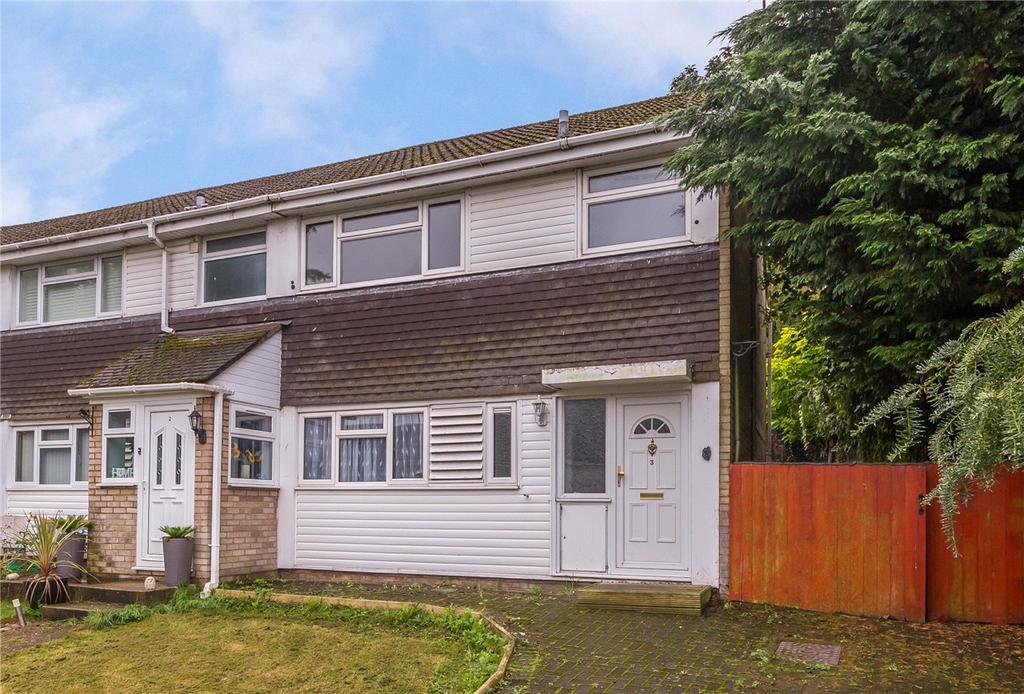 3 Bedrooms End Of Terrace House for sale in Sebright Road, Markyate, Hertfordshire