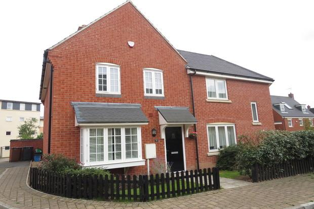 3 Bedrooms Detached House for sale in Reg Partridge Close, Duston, Northampton, NN5