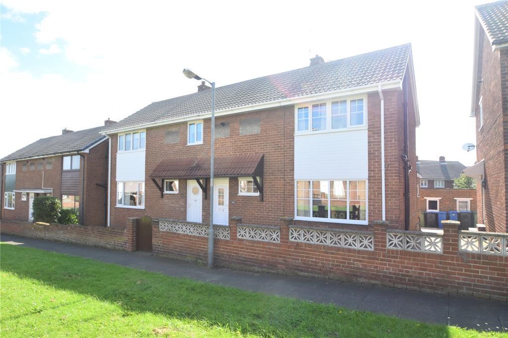 2 Bedrooms Semi Detached House for sale in Newark Crescent, Seaham, Co. Durham, SR7