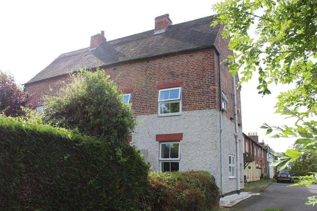 2 Bedrooms End Of Terrace House for sale in Brookfield Cottages, Acresford, Swadlincote