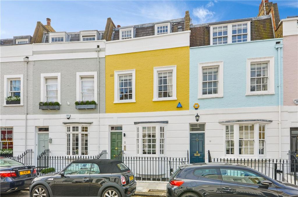 3 Bedrooms Terraced House for sale in Smith Terrace, Chelsea, London, SW3