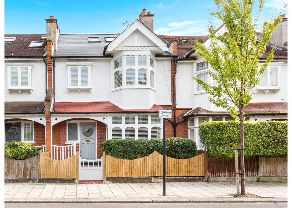 5 Bedrooms Terraced House for sale in Roseneath Road, London, SW11