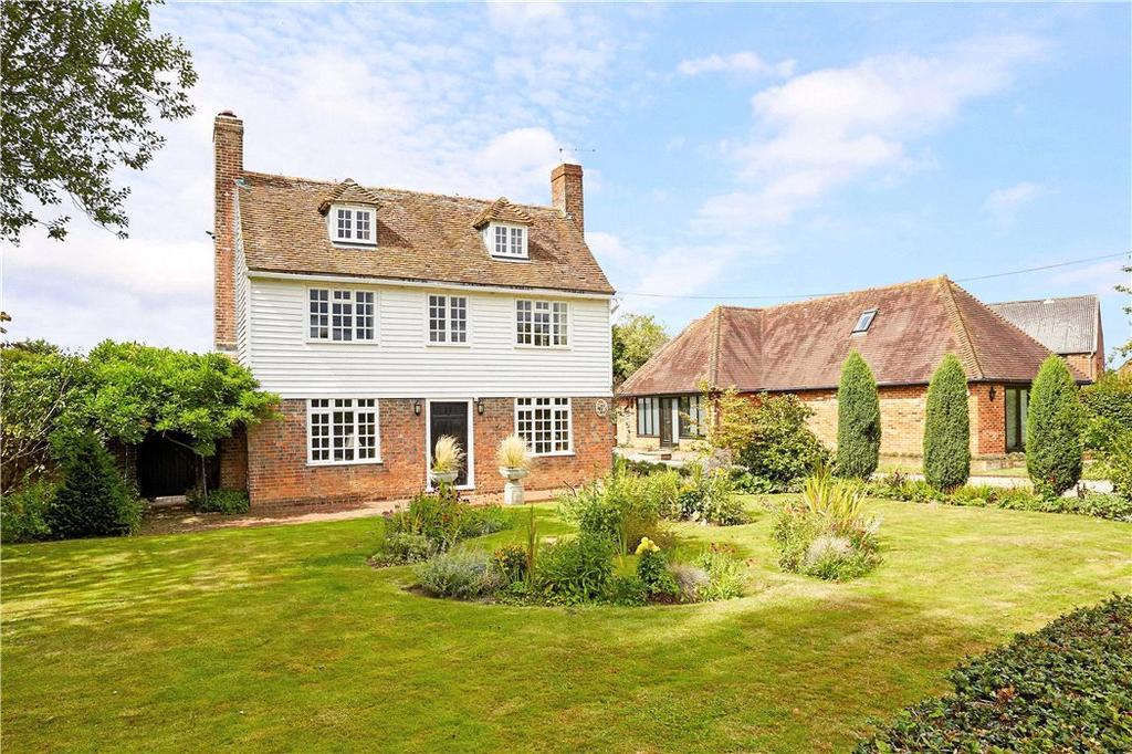 4 Bedrooms Farm House Character Property for sale in Willow Lane, Paddock Wood, Tonbridge, Kent, TN12