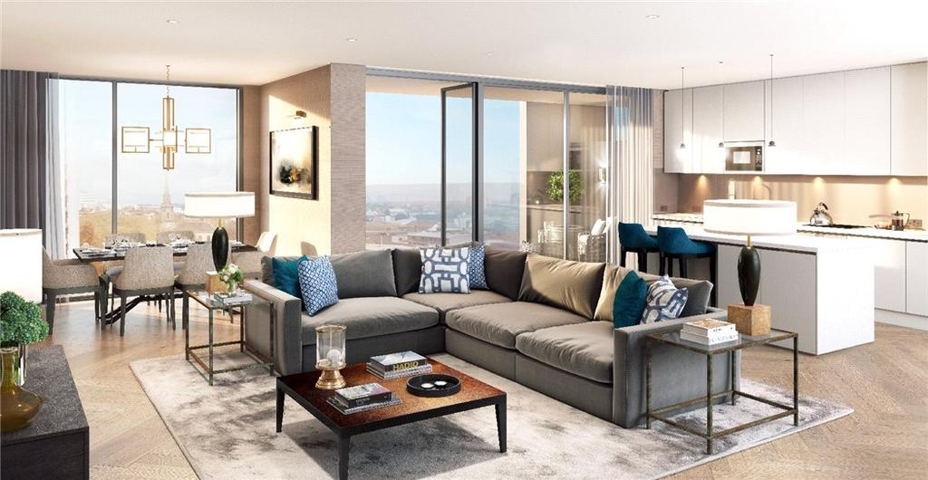 2 Bedrooms Flat for sale in The Lightwell, Cornwall Street, Birmingham City Centre, West Midlands, B3