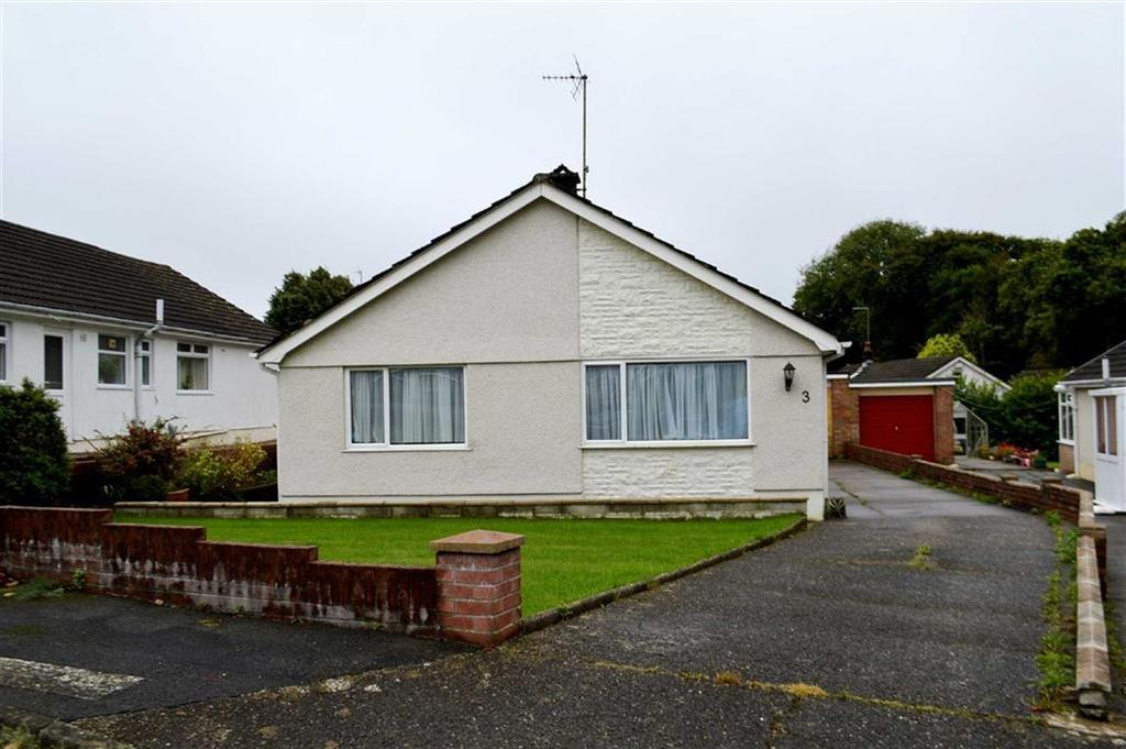 3 Bedrooms Detached Bungalow for sale in Glenfield Close, Swansea, SA2