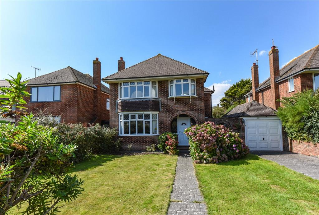 3 Bedrooms Detached House for sale in Sea Lane, Goring-by-Sea, Worthing, West Sussex, BN12