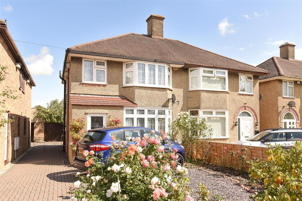 3 Bedrooms Semi Detached House for sale in Cherwell Drive, Marston, Oxford