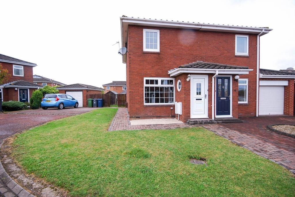 2 Bedrooms Semi Detached House for sale in Crudwell Close, Boldon Colliery