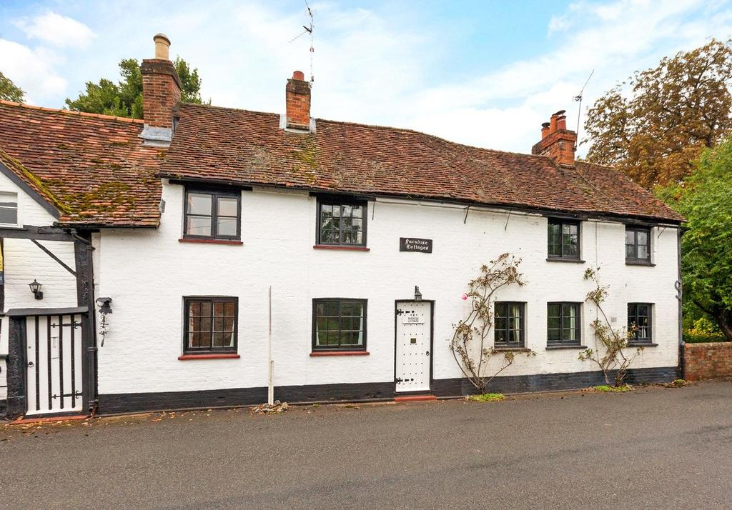 3 Bedrooms Terraced House for sale in Paradise Cottages, The Street, Waltham St. Lawrence, Reading, RG10