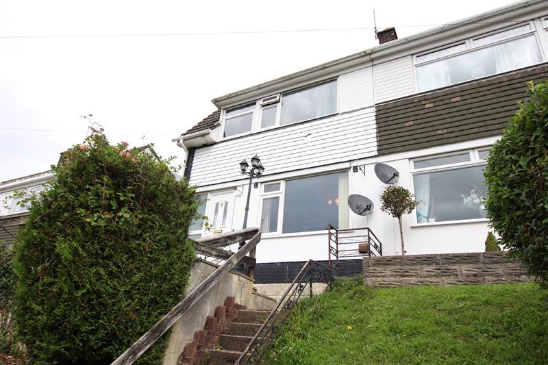 3 Bedrooms Semi Detached House for sale in King Street, Abertridwr, Caerphilly