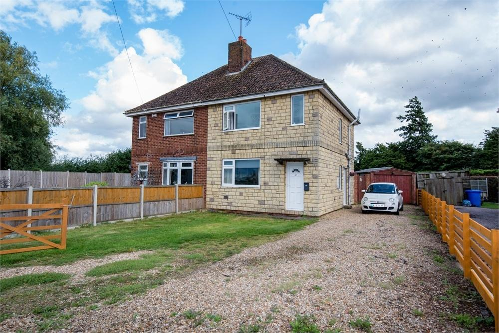 2 Bedrooms Semi Detached House for sale in Waterbelly Lane, Sutterton, Boston, Lincolnshire