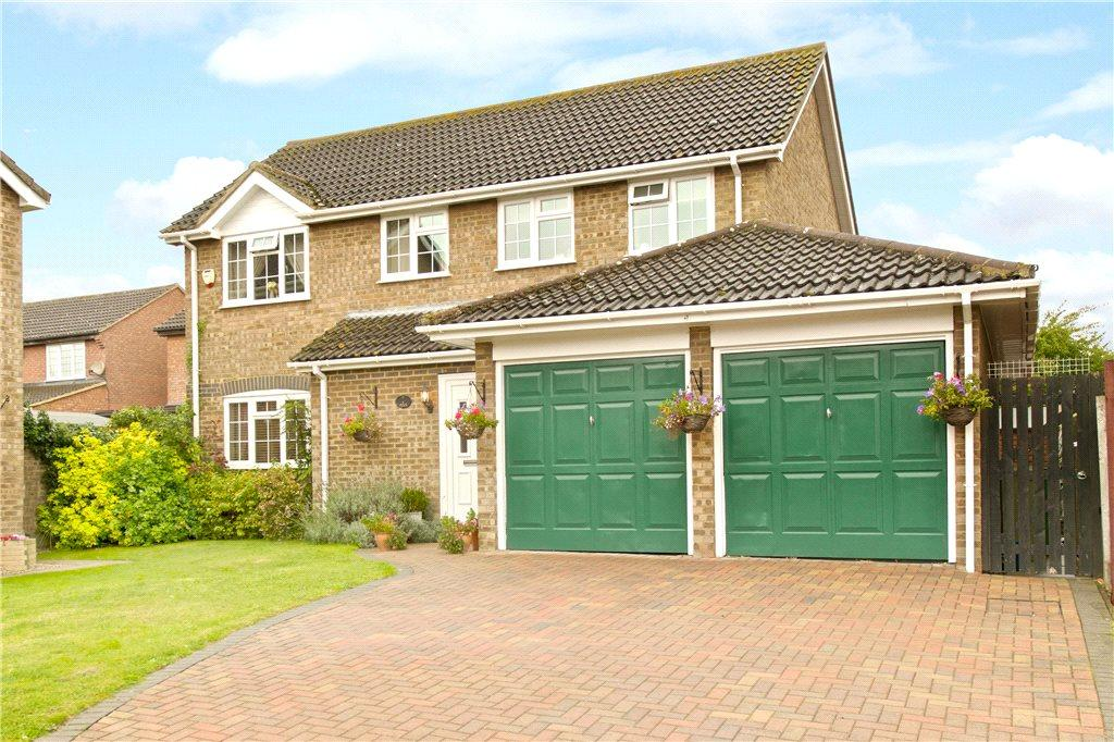 4 Bedrooms Detached House for sale in Short Massey, Olney, Buckinghamshire