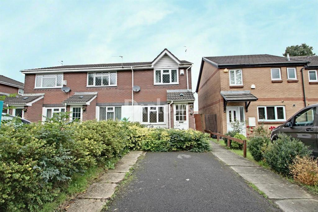2 Bedrooms Semi Detached House for sale in Hammond Way, Penylan, Cardiff