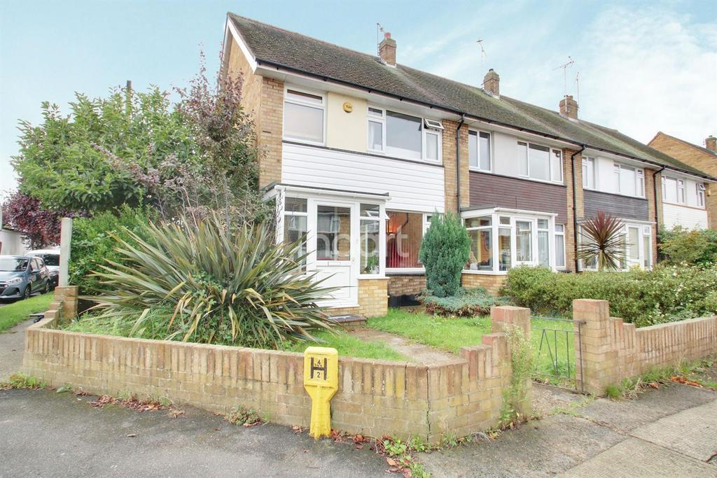 3 Bedrooms End Of Terrace House for sale in Alma Close, Hadleigh
