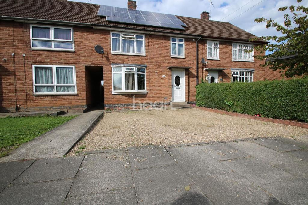 3 Bedrooms End Of Terrace House for sale in Whitney Drive North, Leicester, Leicestershire