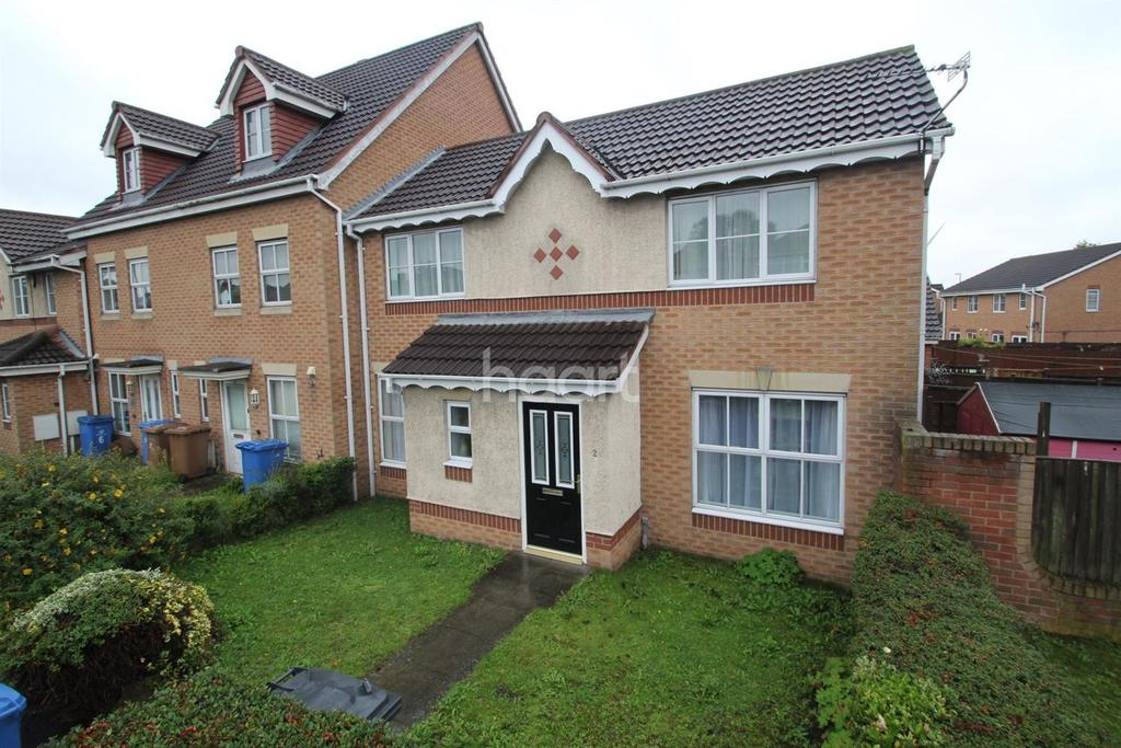 3 Bedrooms End Of Terrace House for sale in Nottingham Road, Spondon