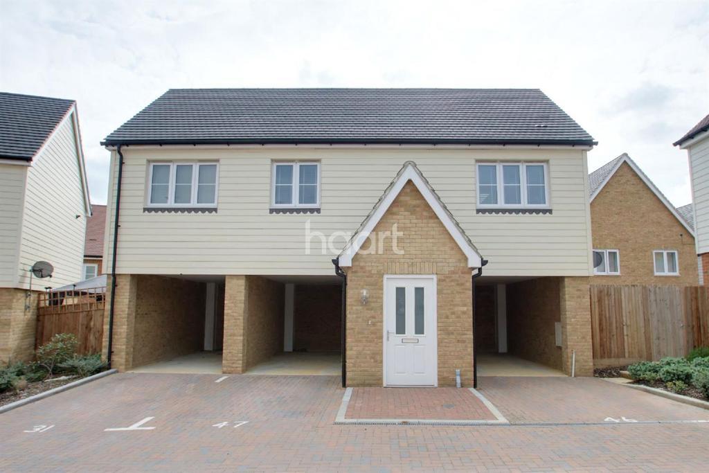 2 Bedrooms Flat for sale in Clayhill Gardens, Hoo, ME3