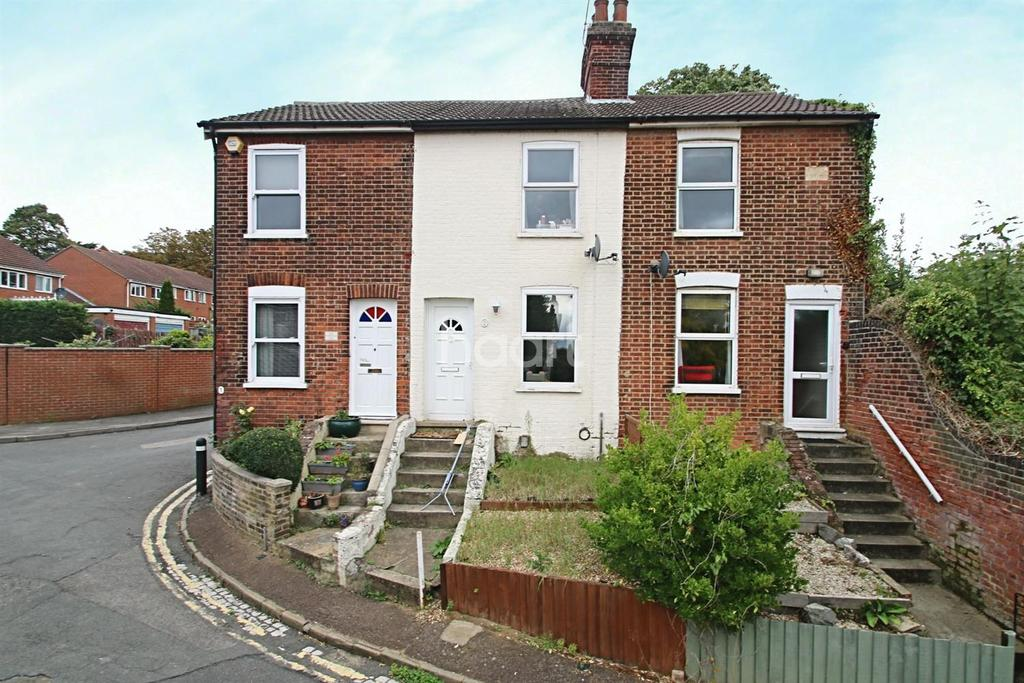 2 Bedrooms End Of Terrace House for sale in Bank Road, Ipswich