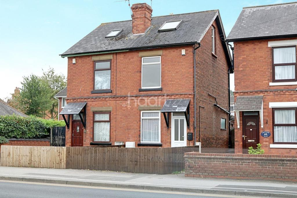 3 Bedrooms Semi Detached House for sale in Grantham Road, Radcliffe on Trent, Nottinghamshire
