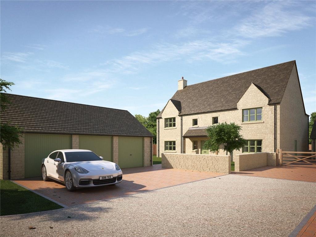 5 Bedrooms Detached House for sale in Cricklade Road, Cirencester, Gloucestershire